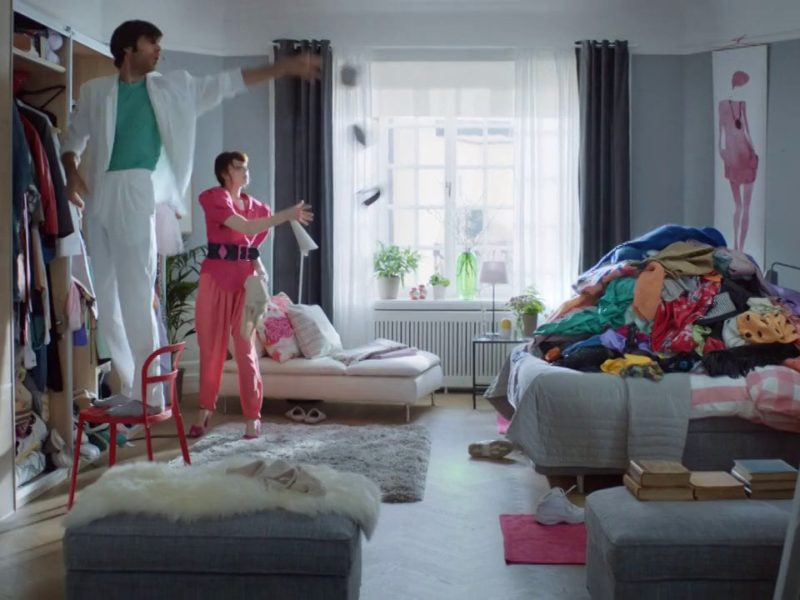IKEA Wardrobe, Sebastian Reed